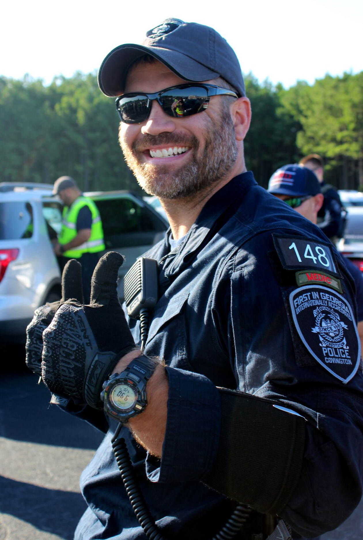 Officer Matt Cooper of the Covington PD